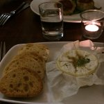 Roasted Camembert with Garlic