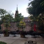 Courtyard at the John Rutledge Inn