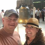 Strike a pose with the Liberty Bell