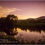 coucher de soleil - Canoe et Kayak excursion riviere Missisquoi -Canoe &Co Glen Sutton