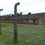 Womens block where the prisoners waitind their turn to enter the gas chamber.