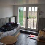 Downstairs & entrance door