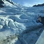 'reach out and touch' that Glacier!