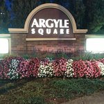 Argyle square just opposite to the hotel