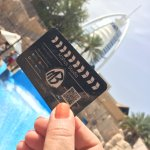 Burj Al Arab View in Wild Wadi Water Park DUBAI