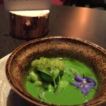 The greenest freshest tasting soup in the history of soups