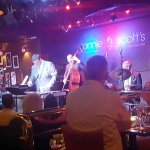 Nat Steele and his band at their CD release party. Excellent mellow jazz in the MJQ style.