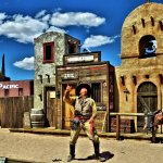 Old Tombstone Western Theme Park Foto