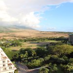 From my balcony, facing the West Maui mountain
