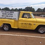 Any place that has a Classic Pickup and BBQ has got to be good!