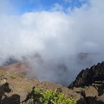 Clouds in crater of Haleakala