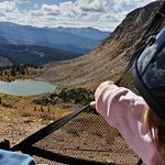 View of Deadman Lake on the Continental Divide, 11,600ft.