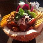 Acai Berry Fresh Coconut Bowl