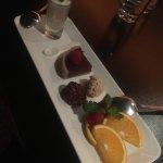 Les desserts de la table d'hôte