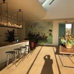 Spectacular new contemporary design Visitors Center at Donum Estate.