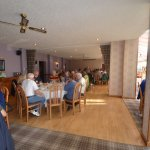 The dinning room - excellent service and food