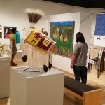 Several exhibits each year feature works by acclaimed and emerging Native American artists.