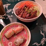 Summer Rolls, Beef with Vermicelli - Yummy!