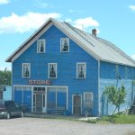 The now closed store in Silver Islet, Ontario