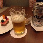 Beer and sweet bite
