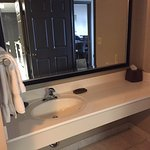 bathroom for the double bed room