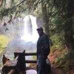 Enjoying Koosah Falls