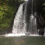 Beautiful La Fortuna waterfall.