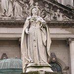 Statue of Queen Victoria at Belfast City Hall