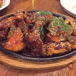 try the korean fried chicken!