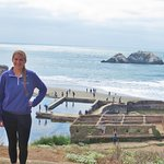 The Sutro Baths ruins