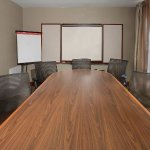 Reserve our board room for private meetings away from the office.