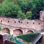 Outside view of Bock Casemates Luxembourg
