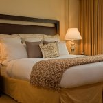 Our Presidential Suite Bedroom is spacious and the perfect place to unwind