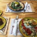 Lamb kebab & hallumi salad