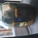 Mobile phones in a jar