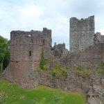 Part of Goodrich Castle - 18 September 2017