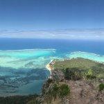 Certainement un des plus beaux points de vues de l'île Maurice