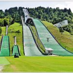 the structure for ski jumping
