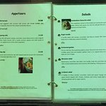 menu September 2017