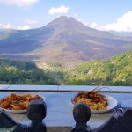 Lunch with a Volcano View