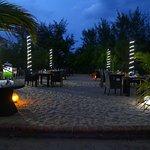 .Open air Sea food specialty restaurant near the beach