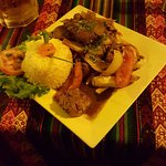 Lomo Fino Saltado (my favorite dish here)