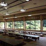 日本庭園が一望できる屋敷「長久邸」。