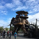 Riders on the elephant