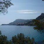 Sentier des douaniers Cap Martin Menton_Vue Monaco