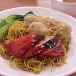 Noodle with Char Siew Chicken and Wonton