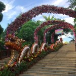 Chinese folk village - beautiful entrance