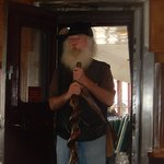 Storyteller Tim is entertaining with his Tall Tales