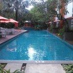 The view of swimmingpool