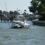 Hurricane ship wreck